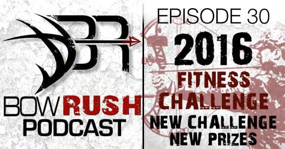 BR030 2016 New Year Bowhunter 60 Day Fitness Challenge My Bow Rush