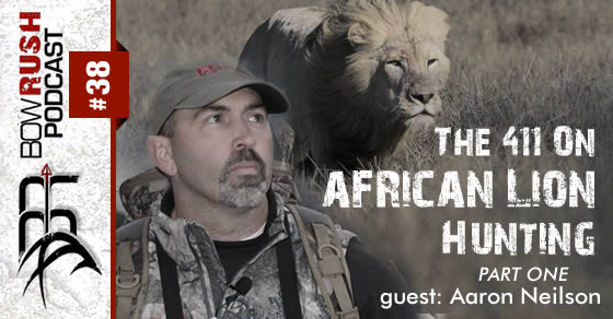 BR038 – The 411 On African Lion Hunting with Aaron Neilson [ Part 1 ]