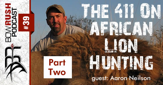 BR039 African Lion Hunting with Aaron Neilson