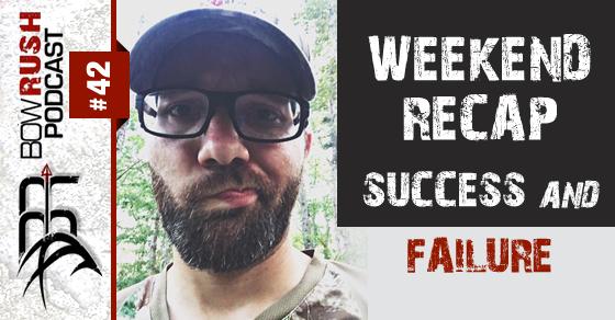 BR042 weekend recap success and failure